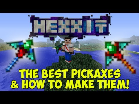 HEXXIT: The Best Tools! - The Best Pickaxes & How To Make Them!