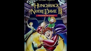 Digitized opening to The Hunchback of Notre Dame II (2002 VHS UK)