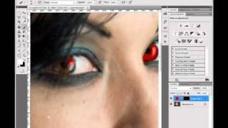 Photoshop Tutorial: Vampire Eyes