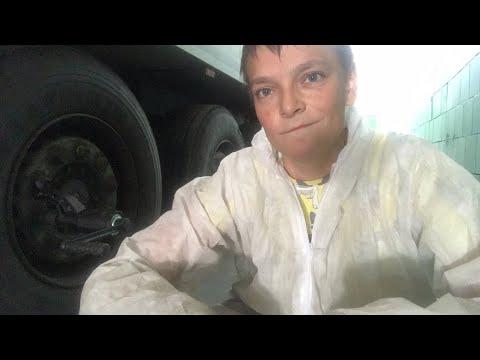 Снимаю колёс