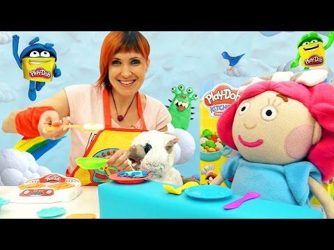 Веселая Школа с Машей Капуки Кануки - Видео для детей - Обед для Смарты