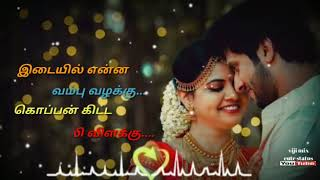 Manasu dhinam unna nenachu🌹 whatsapp love status song🌹Viji mix cute status🌹
