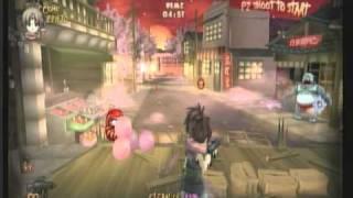 Zombie Panic In Wonderworld WIIWARE (Gameplay)