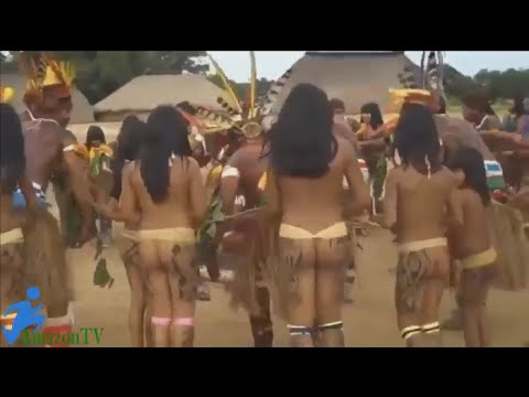 The life culture of tribe in brasil