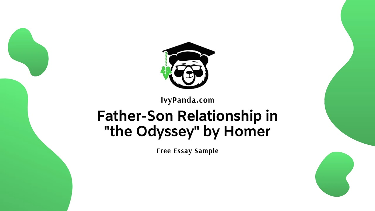 Father son relationship essay