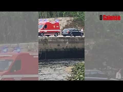 Queda de carro no rio Douro