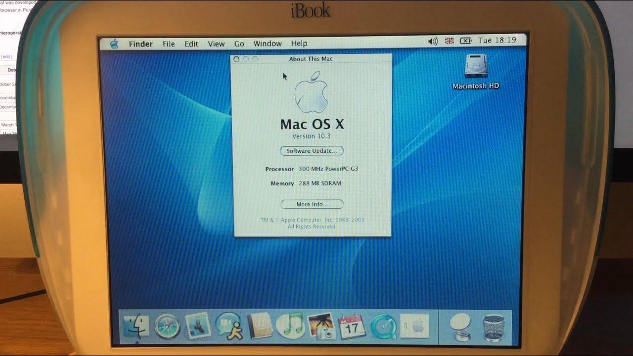 ibook g3 mac os x 10.4