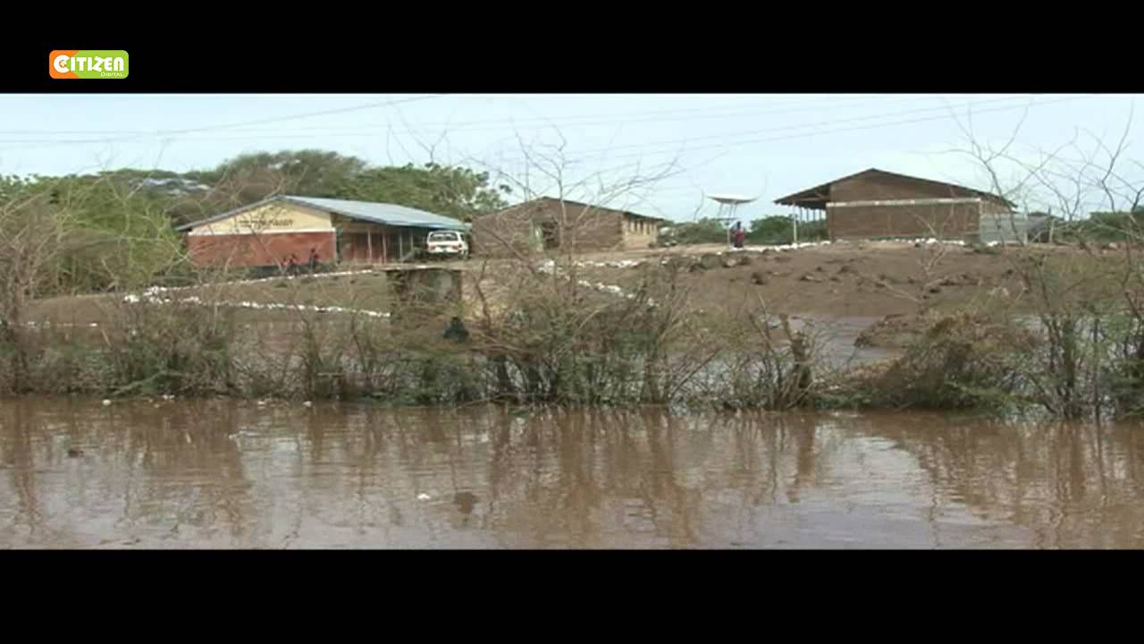 Heavy rains have displaced Turkana county residents from their homes