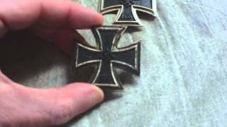 ORIGINAL PERIOD GERMAN IRON CROSS MEDAL V MODERN REPRO REPLICA COPY