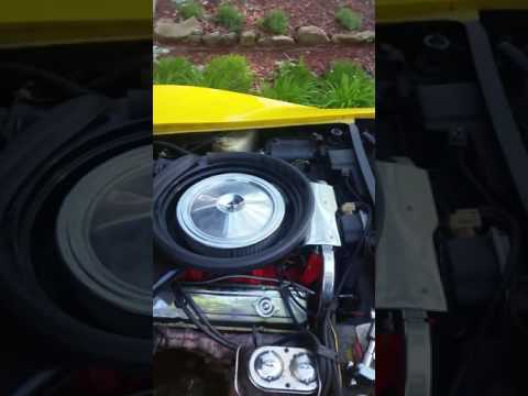 Coolant temp sensor on a C3 corvette