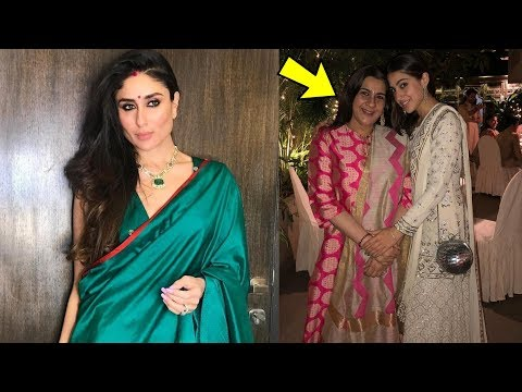 Kareena Kapoor end fight with Saif's ex wife Amrita Singh and Sara Ali on Diwali