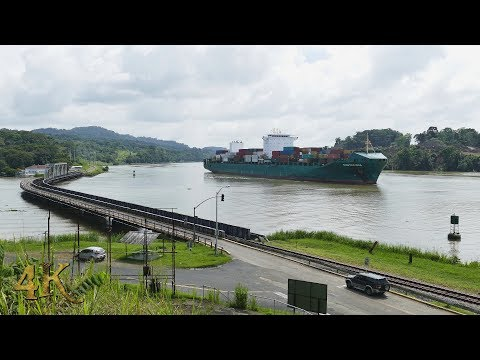 The 4K Guy: Extended one hour footage of ships and nature in 4K at Panama Canal