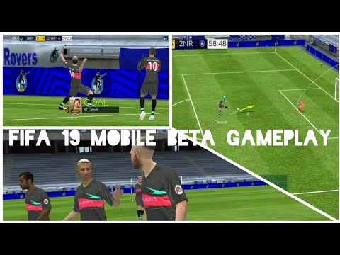 Fifa Mobile 19 Beta GAMEPLAY | CELEBRATION | GRAPHICS