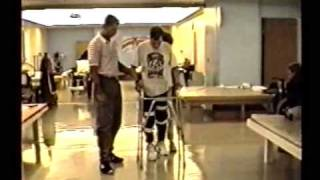 Learning to Walk With A Walker