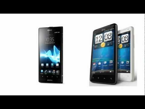 Sony Xperia ion HSPA Versus HTC Vivid, all features