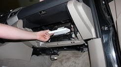 How to Replace Your Cabin Air Filter Toyota Tacoma