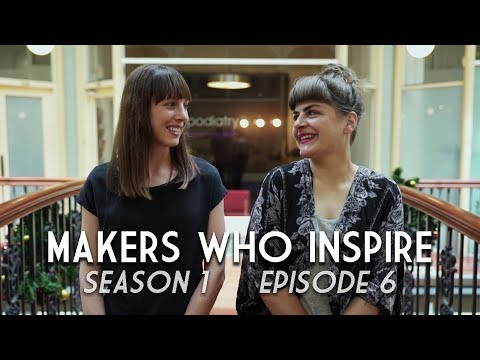 Fruzsi & Caroline - Art Gallery Directors | MAKERS WHO INSPIRE