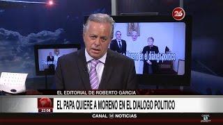"""Comentario editorial de Roberto García en su programa """"La mirada"""" - 10/10/16"""