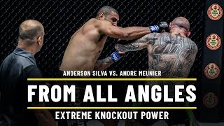 Anderson Silva vs. Andre Meunier | ONE From All Angles