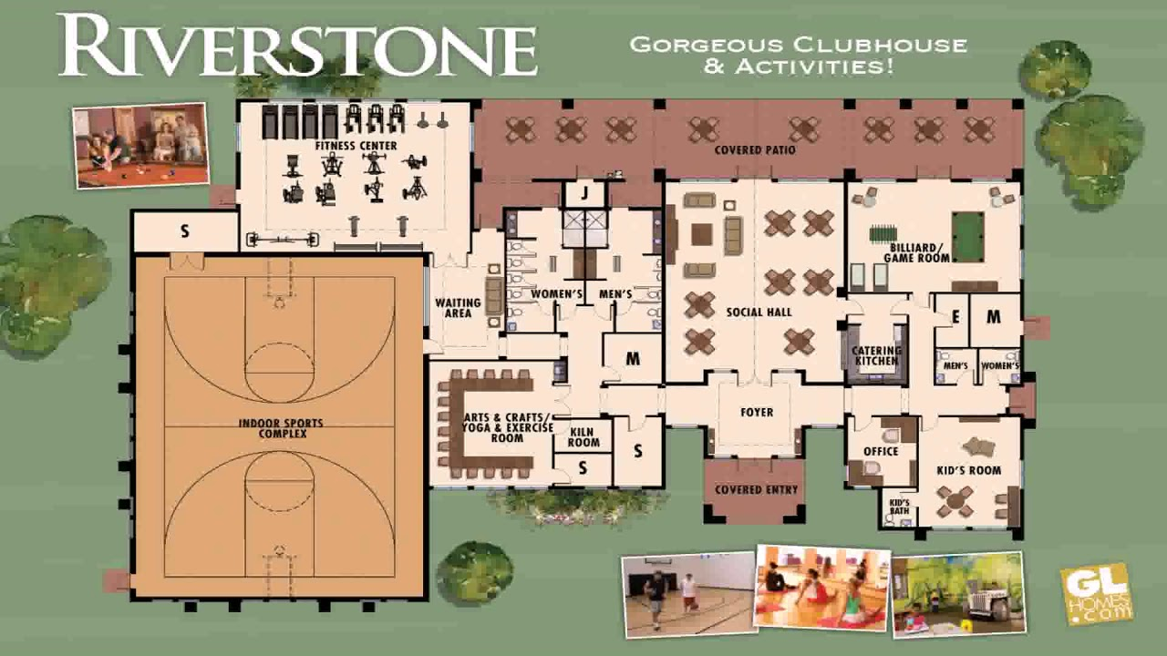 clubhouse floor plan design youtube