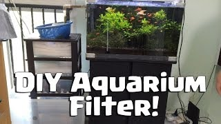 Diy Water Filter For Aquarium (do It Yourself)