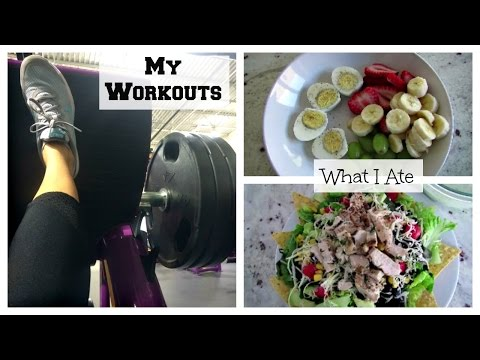 What I Ate M-F + Workouts | Fitness Motivation
