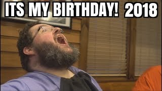 My Birthday 2018! Food, Fans, Friends, And Gifts! New E Win Racer Chair!