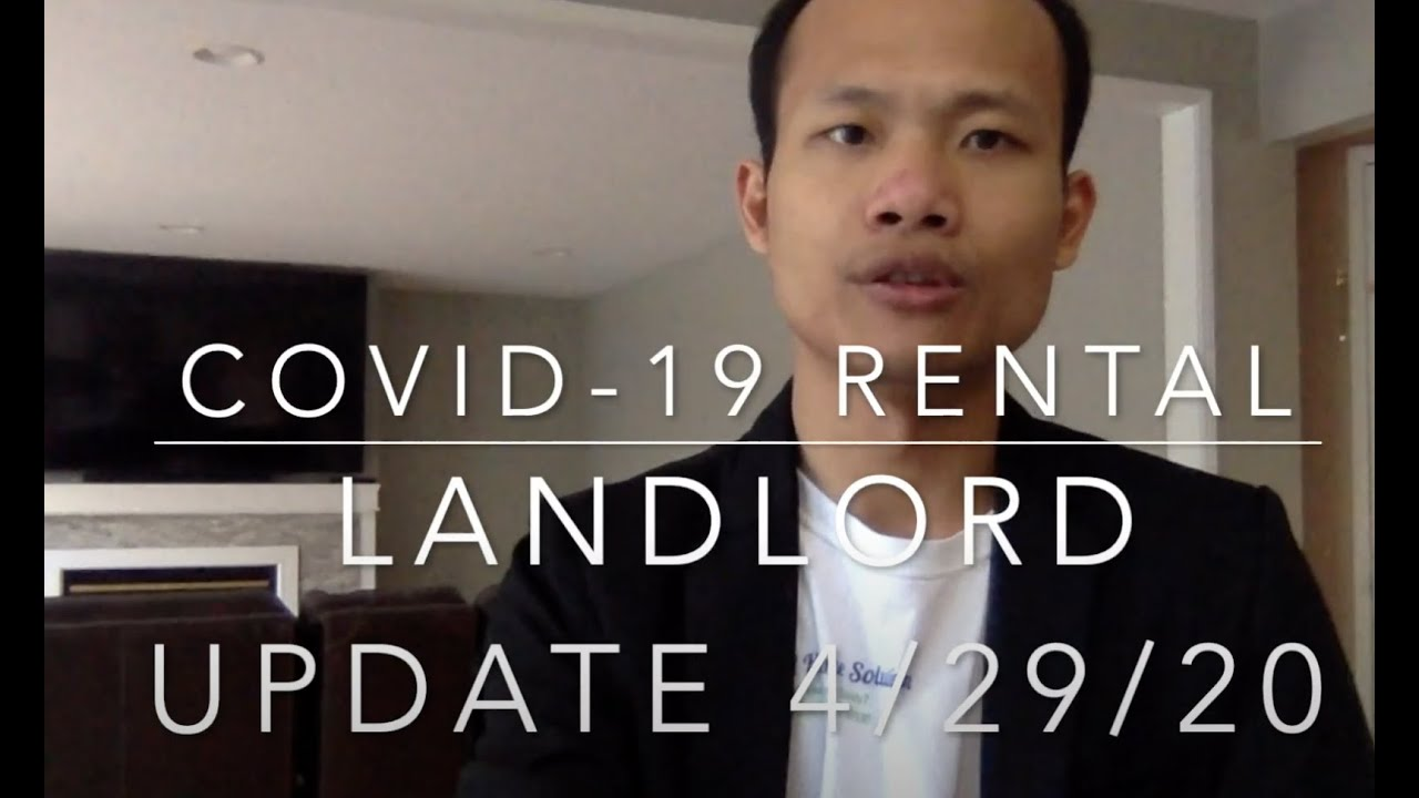 Covit19 Rental Landlord Update May 2020