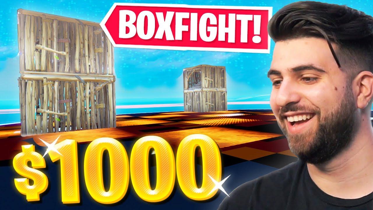 I Hosted a $1000 Boxfight Tournament! - Fortnite Season 3