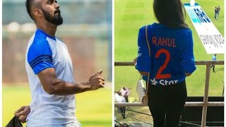 KL RAHUL Girl friend ELIXIR NAYAR