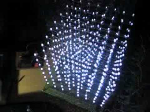 Diy 8 8 8 3d Led Cube Display Matrix 8 Demo 3 Youtube