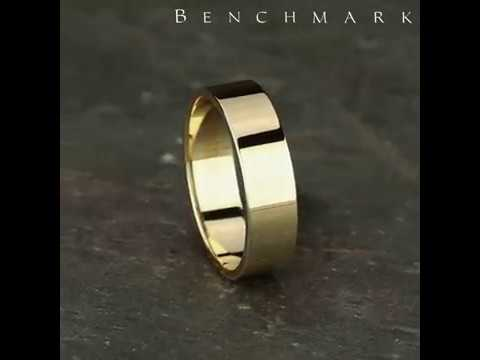260Y - 6mm Men's Yellow Gold Ring