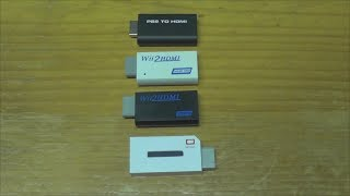 How to fix compatibility issues of PS2 to HDMI and Wii2HDMI adapters