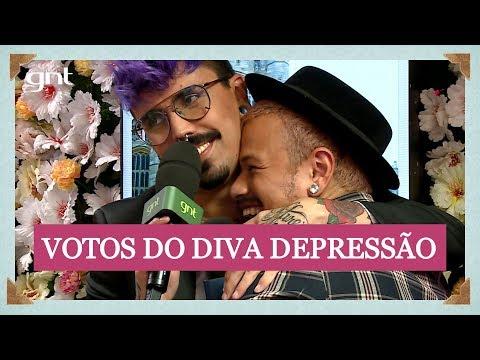 Diva Depressão faz votos de casamento ao vivo | Casamento Real