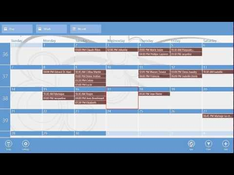 Windows 8.1 One Calendar App Review