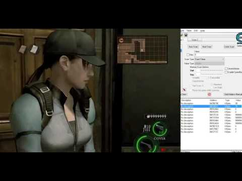 RESIDENT EVIL 5 HACKING CHEAT ENGINE A BASIC DEMO - YouTube