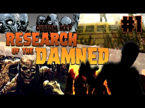 RESEARCH OF THE DAMNED #1 [CUSTOM MAP WORLD AT WAR #75]