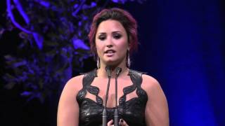 [Full Speech] Demi Lovato