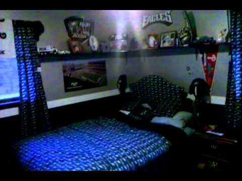 Good Dan The Fanu0027s Philadelphia Eagles Bedroom.