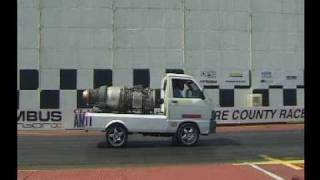 Rolls Royce Viper 102 - Daihatsu HiJet Van run at SCR 06.