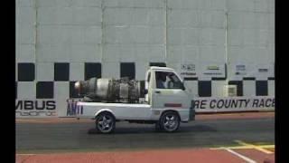 Rolls Royce Viper 102 - Daihatsu HiJet Van run at SCR 06.