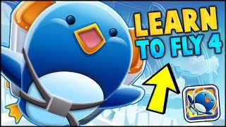 CAN WE GET TO THE MOON?? // BRAND NEW LEARN TO FLY 4 (NEW LEARN 2 FLY GAME)