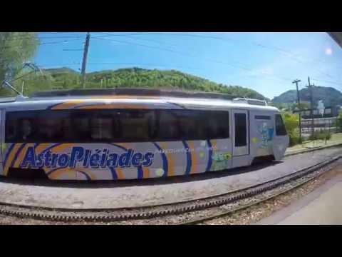 VEVEY - BLONAY - Les PLEIADES Train Ride (Switzerland)