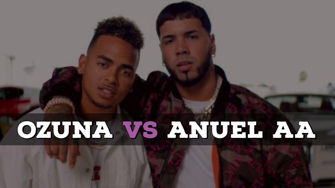 OZUNA vs ANUEL AA - ARRANCO LA GUERRA  (ROUND 1)