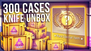 300 FRACTURE CASE SKELETON KNIFE UNBOXING