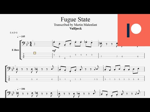 Vulfpeck - Fugue State (bass tab)
