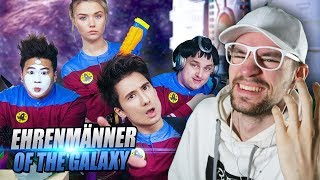 EHRENMÄNNER of the GALAXY I Julien Bam feat. Tanzverbot, Julia Beautx, Rezo | REACTION