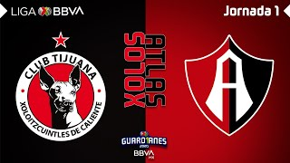 Resumen | Tijuana 3  1 Atlas | Liga MX  Guardianes 2020  Jornada 1 | LIGA BBVA MX