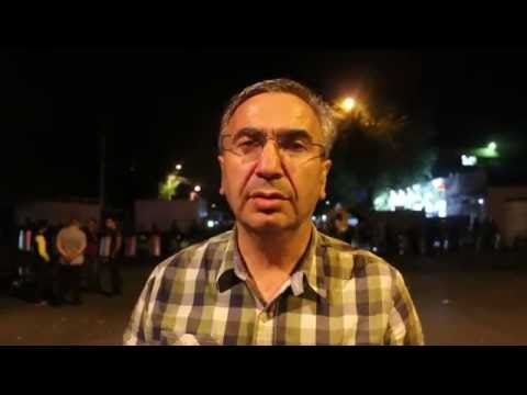 "Gagik Ginosyan - About ""Sasna Tsrer"" Group, and the Situation in Yerevan."