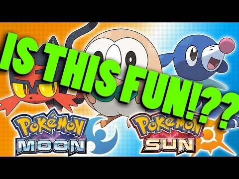 Are Pokémon Sun and Moon even GOOD?!